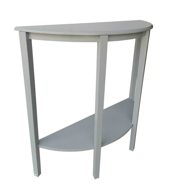 Alamo Console Table – 1 Shelf – Grey