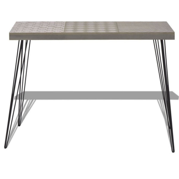 Vinny Grey Console Table