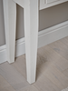 Derby White Console Table With 2 Drawers | CONSOLE TABLES UK