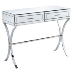 Aura Mirrored & Chromed Console Table | CONSOLE TABLES UK