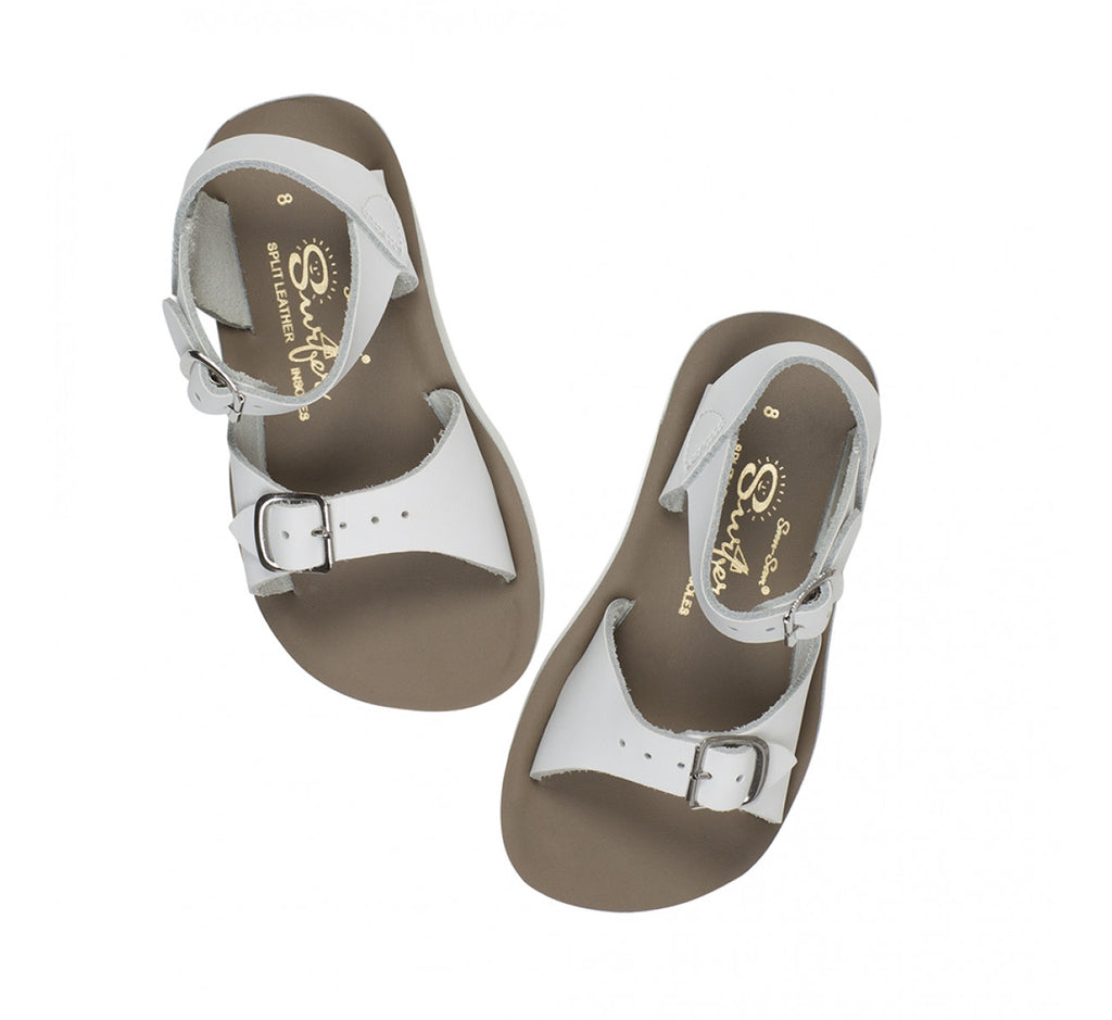 Sun Sandals - Surfer - White sandals Sun sandals - Little GEMS Boutique