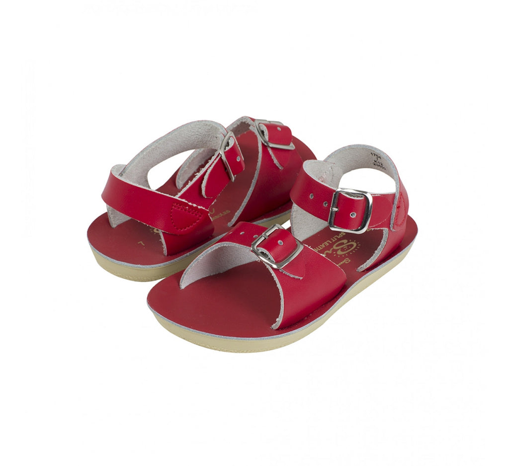 Sun Sandals - Surfer - Red sandals Sun sandals - Little GEMS Boutique