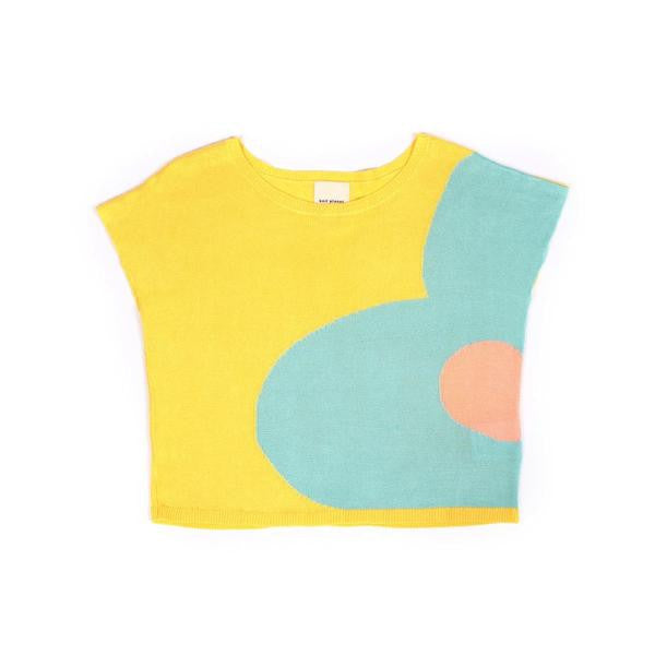 Knit Planet - Blossom Blouse - Lemon