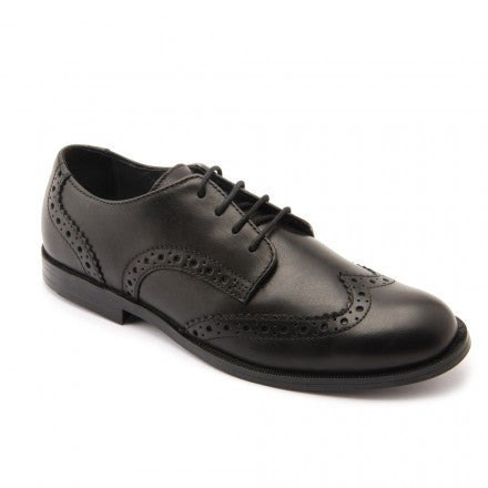 Start rite - Burford Brogue - black leather  Little GEMS Boutique - Little GEMS Boutique