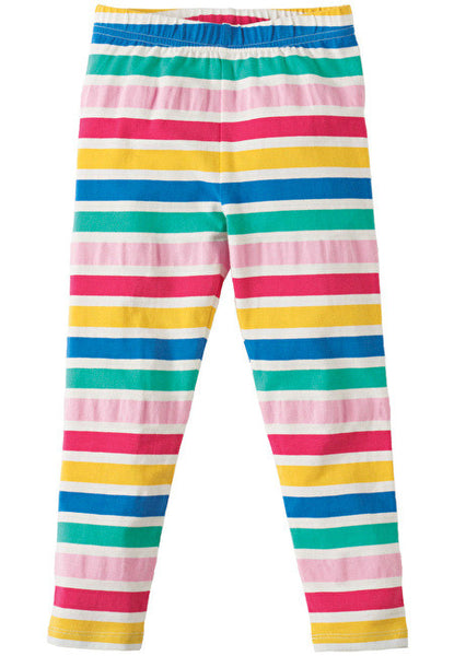 Frugi - Libby Leggings - Multi Stripe - Little GEMS Boutique