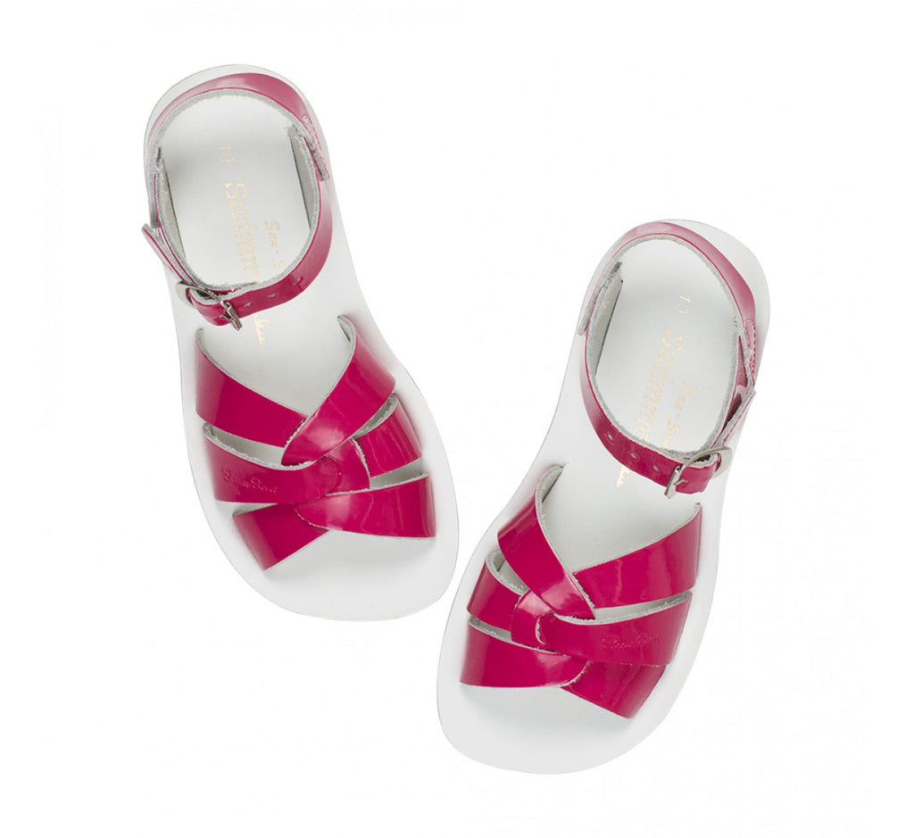 Sun Sandals - Swimmer - Fuchsia - Little GEMS Boutique - 1