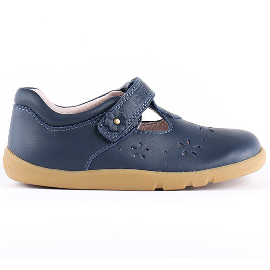 Bobux - I Walk - Rhyme T - Navy Leather shoes Bobux - Little GEMS Boutique
