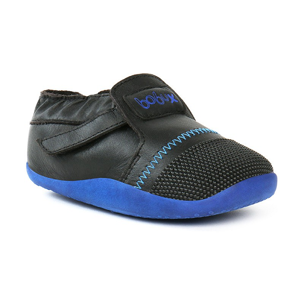 Bobux - Step Ups Xplorer Origin - Black / Blue pre walkers Bobux - Little GEMS Boutique
