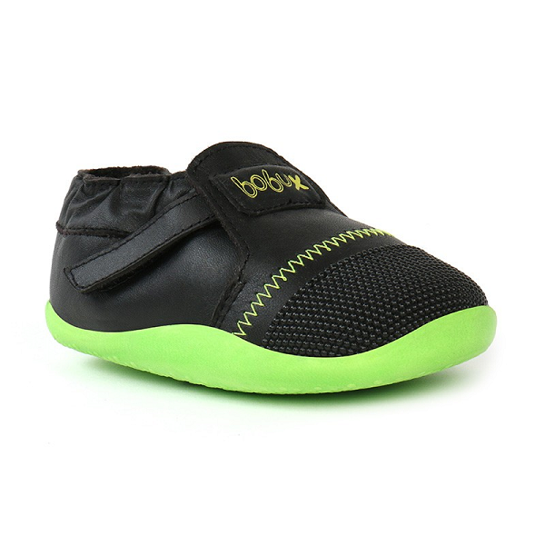 Bobux - Step Ups Xplorer Origin - Black / Lime pre walkers Bobux - Little GEMS Boutique