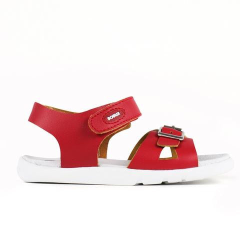 Bobux - I Walk - Pop Sandal - Red Sandal Bobux - Little GEMS Boutique