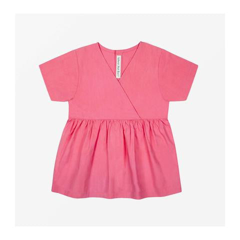 Where's that Bear - River Cotton Top Pink