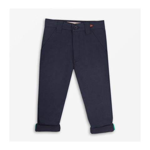Where's that Bear - Super Twill Trousers - Navy Blue