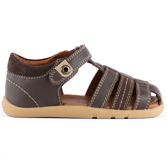 Bobux - I Walk - Global Roamer - Espresso Leather - Little GEMS Boutique