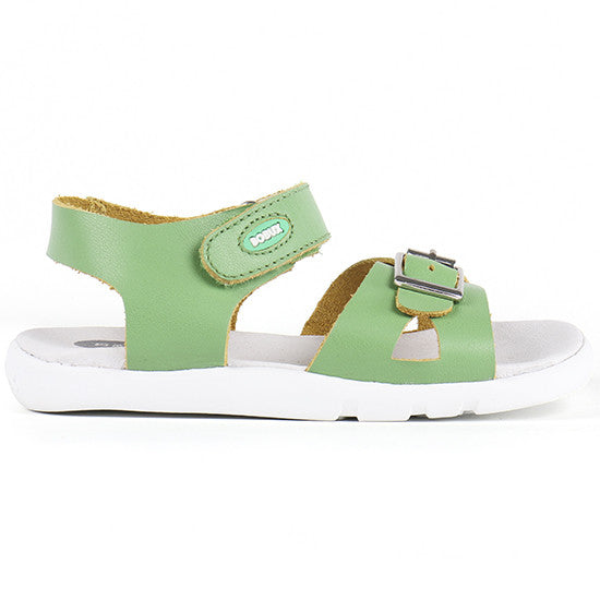 Bobux - I Walk - Pop Sandal - Apple Green Sandal Bobux - Little GEMS Boutique