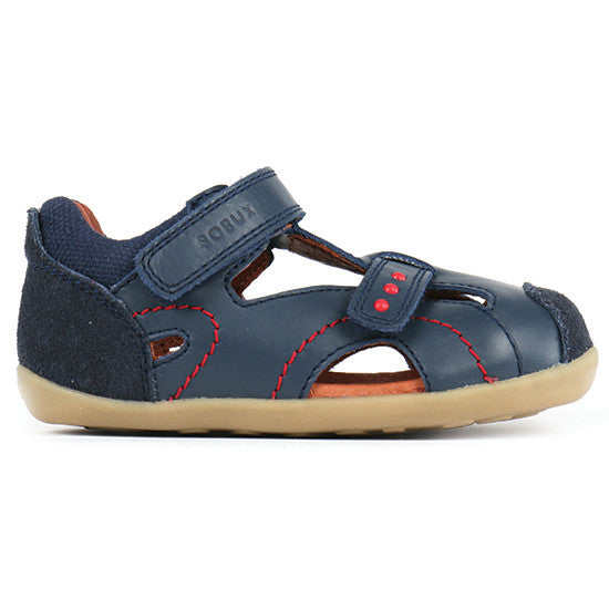 Bobux - Step Up Chase Sandal - Navy pre walkers Bobux - Little GEMS Boutique