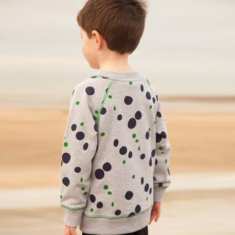Where's that Bear - Puddle Sport Jersey Sweater Grey Marl