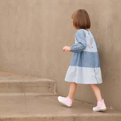 Where's that Bear - Beach Chambray Dress
