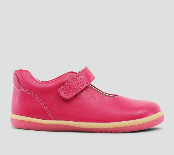 Bobux - I Walk - Delight Mary Jane - Fuchsia Shoes Bobux - Little GEMS Boutique