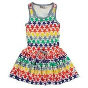 Boys&Girls Bright Stars Racer Back Dress - Little GEMS Boutique - 1