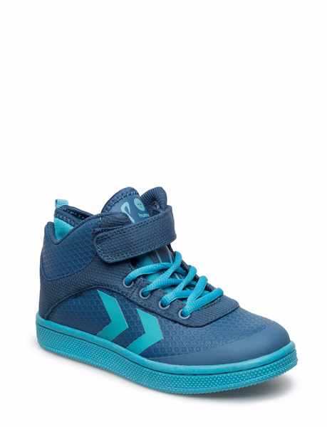 Hummel - Play Sneaker Jr - Poseidon Blue - Little GEMS Boutique - 1