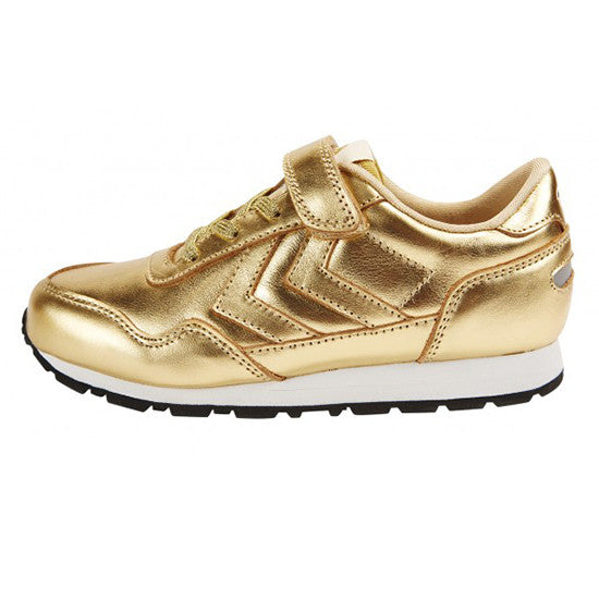 Hummel - Reflex Metallic Low - Gold - Little GEMS Boutique - 1