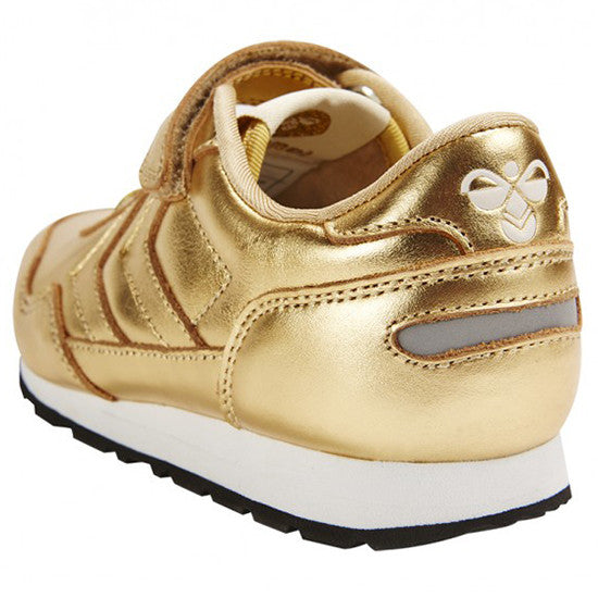 Hummel - Reflex Metallic Low - Gold - Little GEMS Boutique - 3