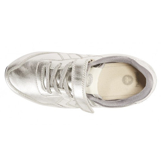 Hummel - Reflex Metallic Low - Silver - Little GEMS Boutique - 3
