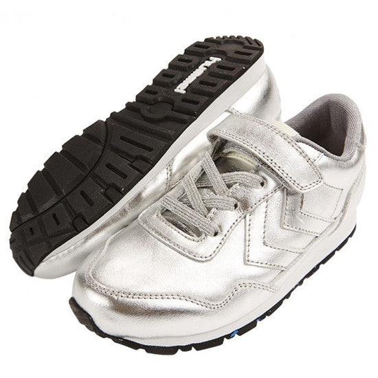 Hummel - Reflex Metallic Low - Silver - Little GEMS Boutique - 1