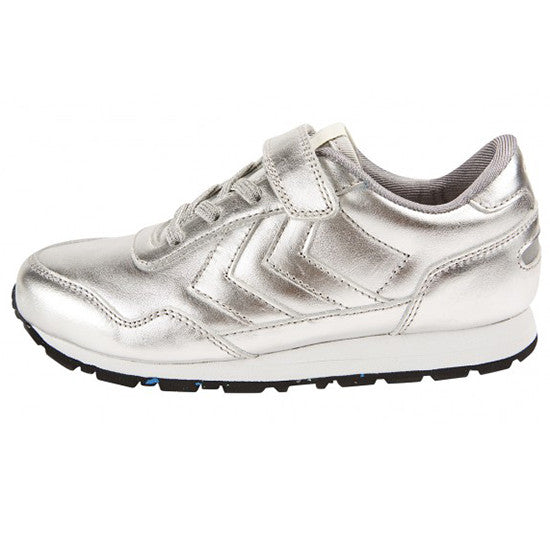 Hummel - Reflex Metallic Low - Silver - Little GEMS Boutique - 2