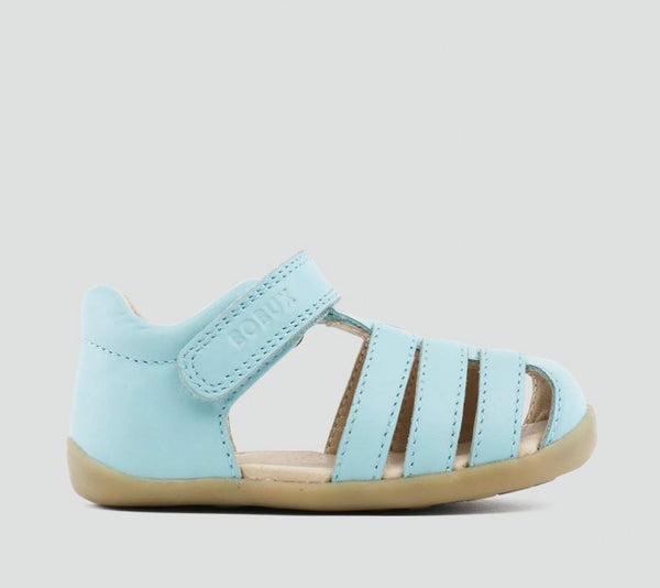 Bobux - Step-up - Jump Sandal - Aqua pre walkers Bobux - Little GEMS Boutique
