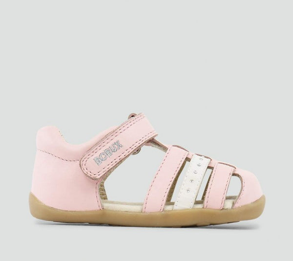Bobux - Step-up - Jump Sandal - Peony Pink pre walkers Bobux - Little GEMS Boutique