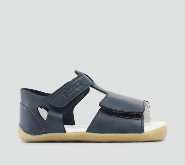 Bobux - Step Up - Uni Mirror Sandal - Navy pre walkers Bobux - Little GEMS Boutique