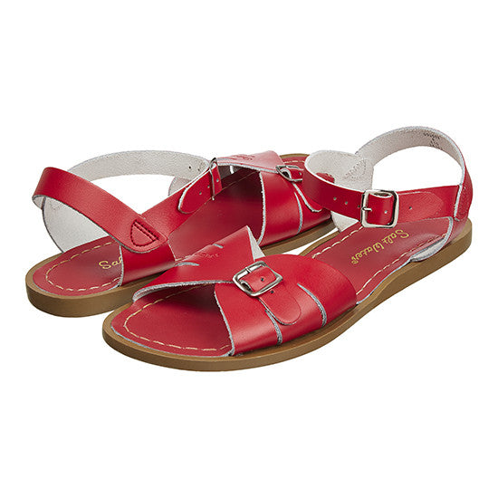 Salt-Water Classic Sandal - Red sandals Salt-water Sandals - Little GEMS Boutique