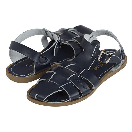 Salt-Water - Shark Sandal - Navy sandals Salt-water Sandals - Little GEMS Boutique