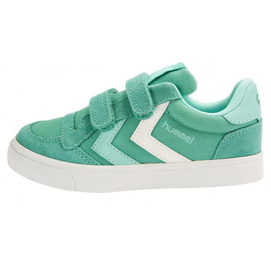 Hummel - Slim Stadil Canvas Low - Vivid Green - Little GEMS Boutique - 1