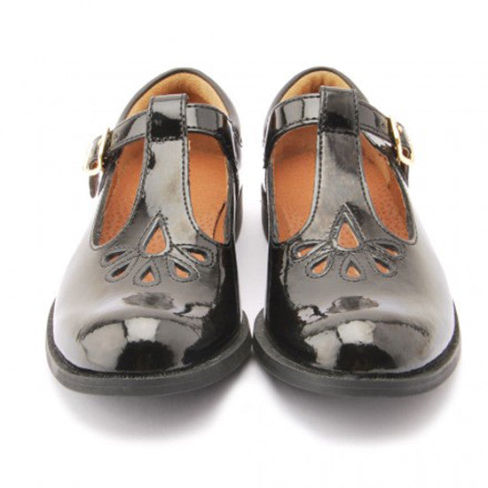 Start rite - Moreton Buckled T-Bar Shoe- patent black leather  Little GEMS Boutique - Little GEMS Boutique