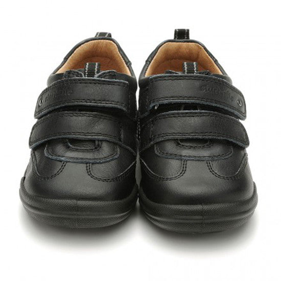 Start Rite Flexy-Soft Air, Black Boys Riptape First Walking Shoes shoes start rite - Little GEMS Boutique