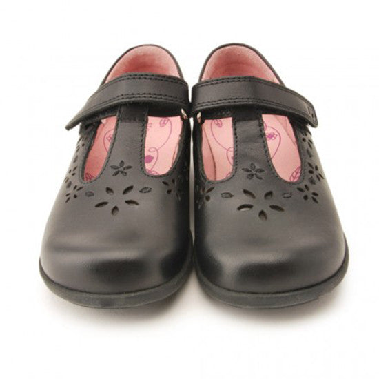 Start Rite - Charlotte - Black Leather School Shoes shoes start rite - Little GEMS Boutique