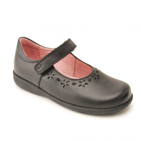 Start Rite - Emily - Black Leather School Shoes shoes start rite - Little GEMS Boutique