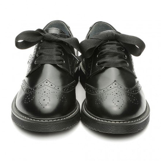 Start rite - Impulsive Brogue - black leather  Little GEMS Boutique - Little GEMS Boutique