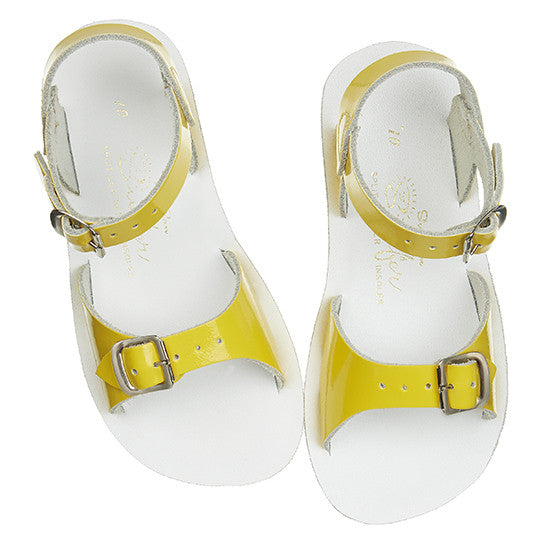 Sun Sandals - Surfer - Shiny Yellow - Little GEMS Boutique - 1