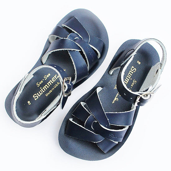 Sun Sandals - Swimmer - Navy - Little GEMS Boutique