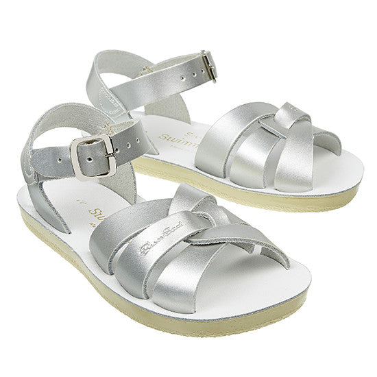 Sun Sandals - Swimmer - Silver - Little GEMS Boutique - 2