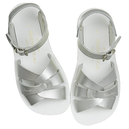 Sun Sandals - Swimmer - Silver - Little GEMS Boutique - 1