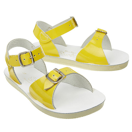 Sun Sandals - Surfer - Shiny Yellow - Little GEMS Boutique - 2
