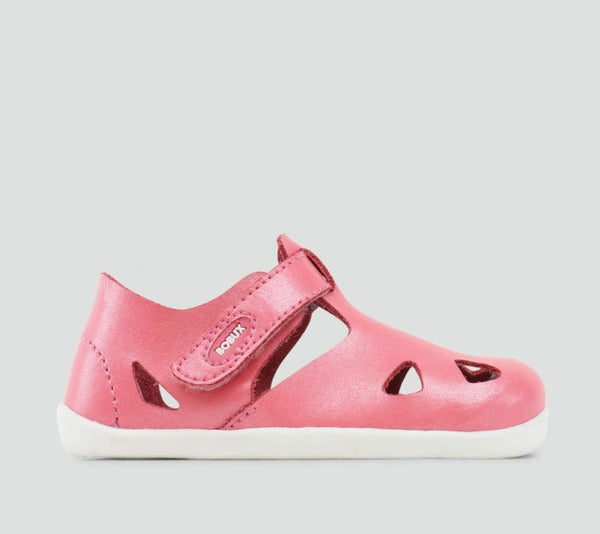 Bobux - Step-up - Zap Sandal - Coral pre walkers Bobux - Little GEMS Boutique