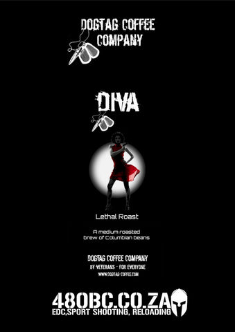 Dog Tag Coffee - Diva
