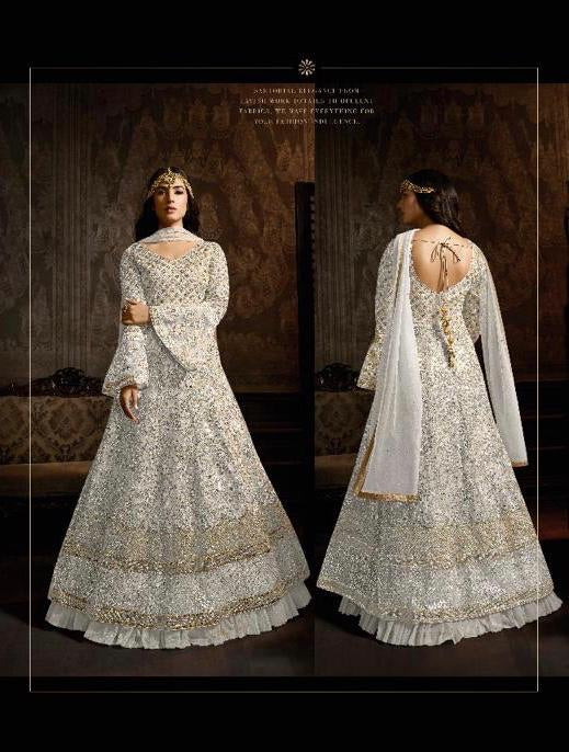 Latest Bollywood Collection 761D Semi Stitched