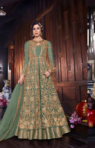 Latest Bollywood Collection 607A Semi Stitched
