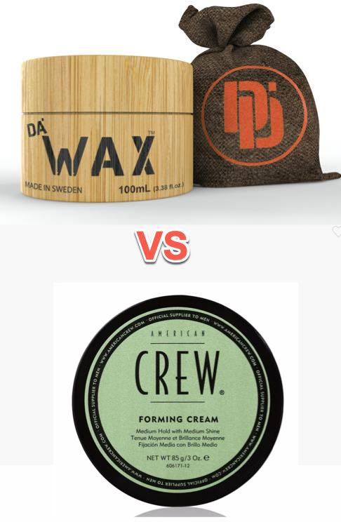 American Crew Forming versus Da'Wax Performance Review & Comparison